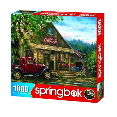 Springbok Country General Store Puzzle 1000pc