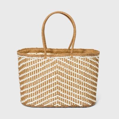 Straw Tote Handbag - A New Day™