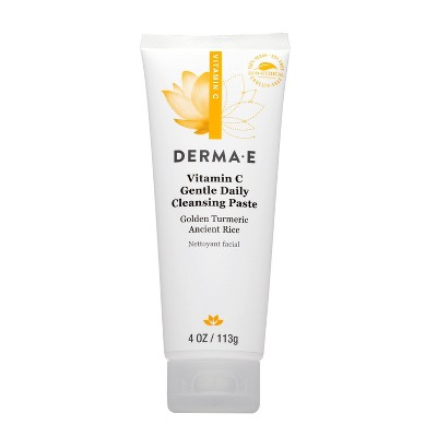 Derma E Vitamin C Gentle Daily Cleansing Paste - 4oz