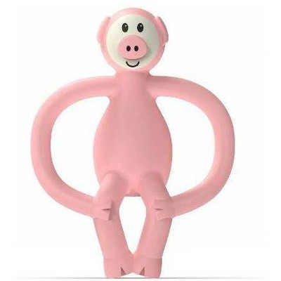 Matchstick Monkey Teething Toy - Pig