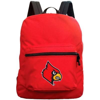 NCAA Louisville Cardinals Red Premium Backpack