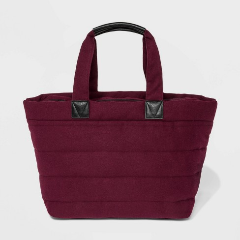 Woolen Weekender Bag - A New Day™ - image 1 of 3