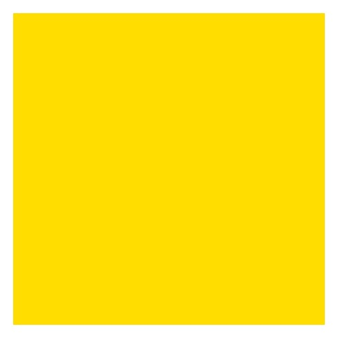 Fadeless Paper Roll, Dark Yellow, 48 Inches x 50 Feet - image 1 of 1