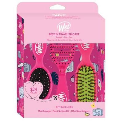 Wet Brush Best in Travel Trio Kit - Pink