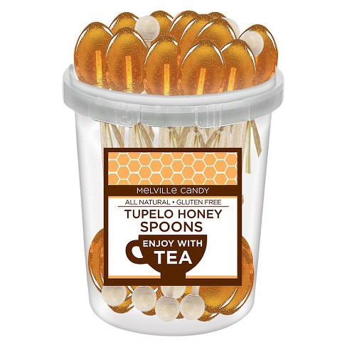 Melville Candy Company Tupelo Honey Spoons Lollipops - 30ct - image 1 of 1