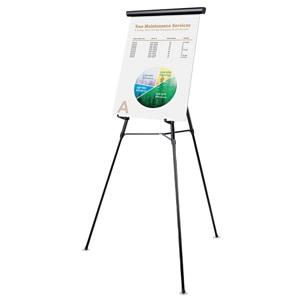 Professional Easel Black Universal Office