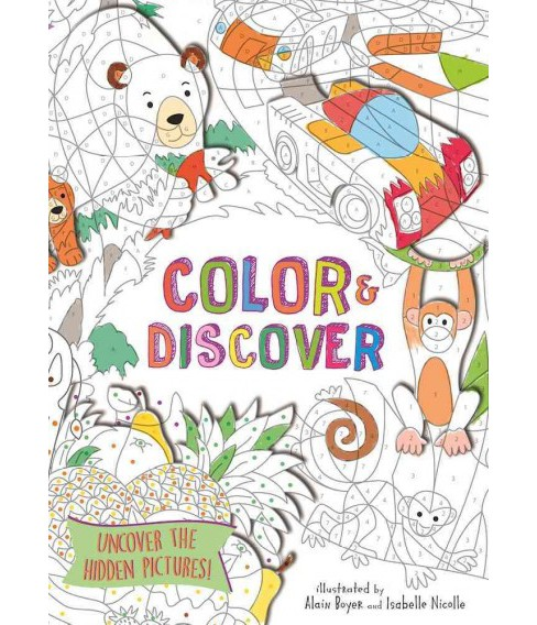 Color & Discover : Uncover the Hidden Picture (Paperback) - image 1 of 1