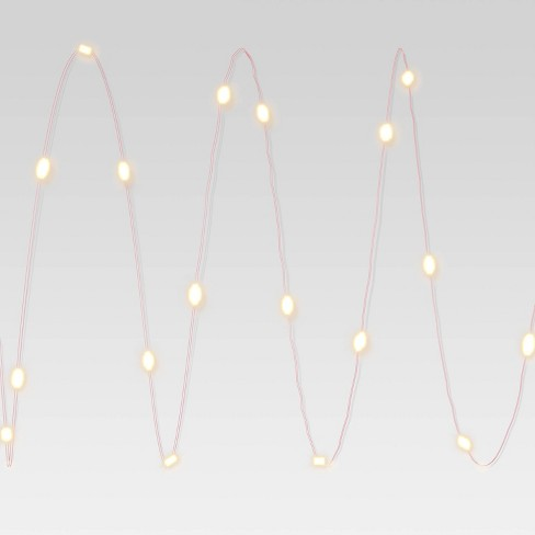 LED Fairy Light with Colored Wire - Room Essentials™ - image 1 of 3