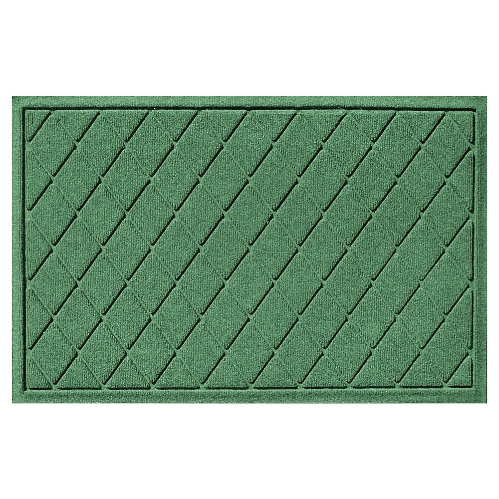 Light Green Solid Doormat - (2'X3') - Bungalow Flooring