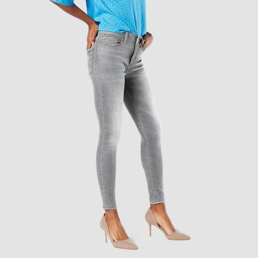 Denizen 174 From Levi 39 S 174 Women 39 S High Rise Skinny Jeans Gray 8