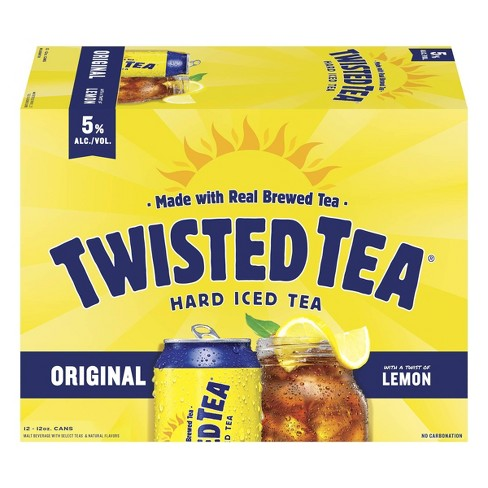 Twisted Tea Original Hard Iced Tea 12pk 12 Fl Oz Cans Target