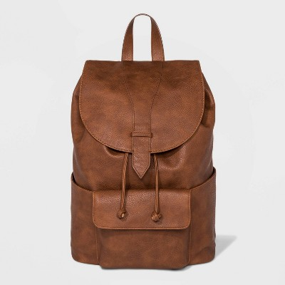 Flap Backpack - Universal Thread™ Brown