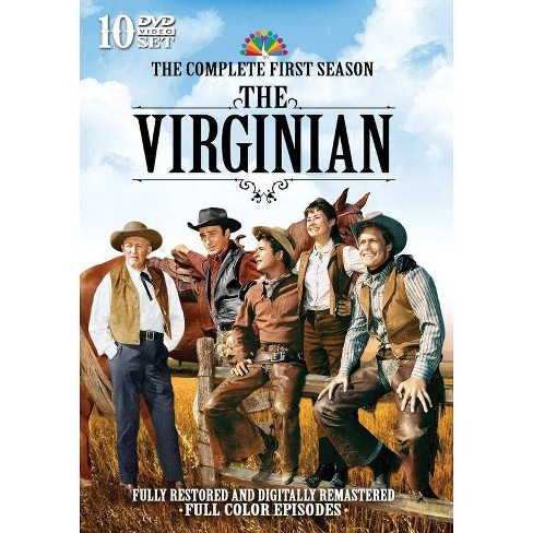 The Virginian: The Complete First Season (DVD) - image 1 of 1