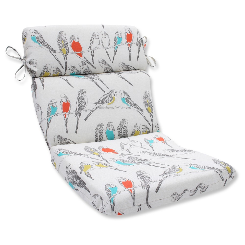 Pillow Perfect Outdoor Seat Cushion - Off White, Beige