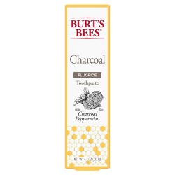 Burt's Bees Charcoal Peppermint Fluoride Toothpaste - 4.7oz