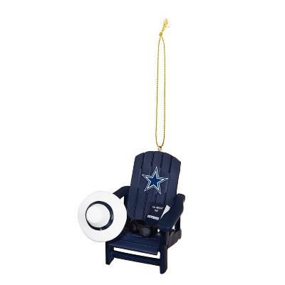 Evergreen Dallas Cowboys Adirondack Chair Ornament