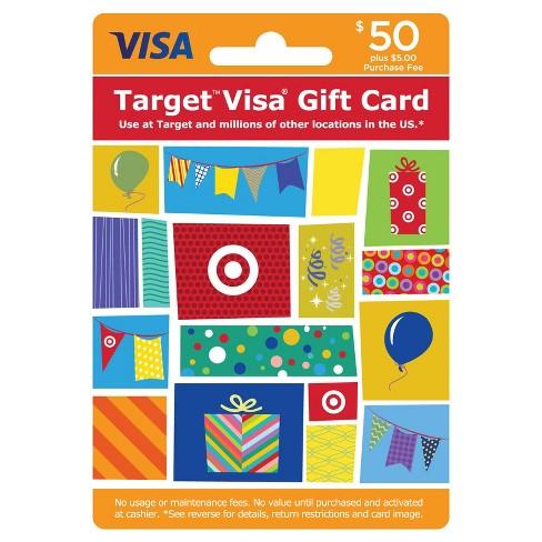 Visa Gift Card - $50 + $5 Fee - image 1 of 1