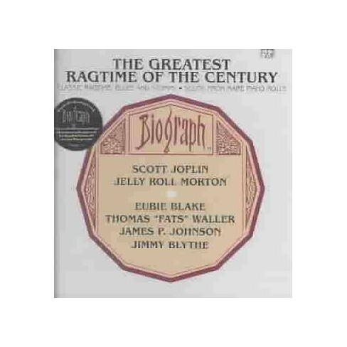 Various - Greatest Ragtime of the Century: Classic Ragtime, Blues and Stomps; Solos from Rare Piano - image 1 of 1
