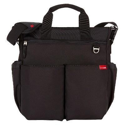 Skip Hop Duo Signature Diaper Bag Black