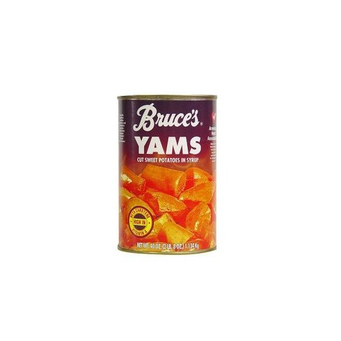 Bruces Yams Cut Sweet Potatoes In Syrup 40 Oz Target