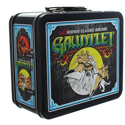 Crowded Coop, LLC Midway Classic Arcade Tin Lunch Box, Gauntlet