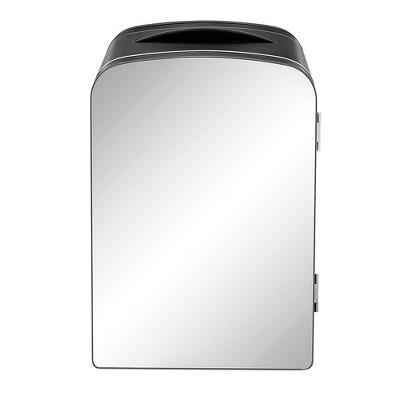 Chefman 0.52 cu ft Portable Mini Mirrored Personal Fridge - Black