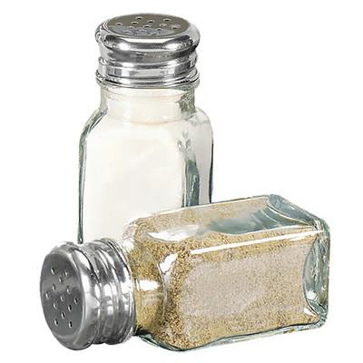 Home Basics 2 oz. Salt and Pepper Shaker, Clear