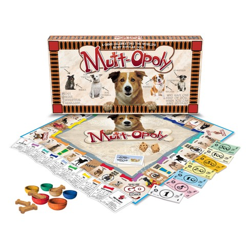 Late For The Sky Mutt-Opoly Board Game - image 1 of 3
