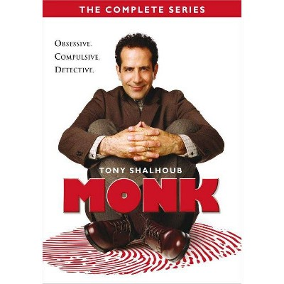 Monk: The Complete Series (DVD)(2020)