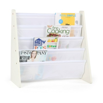 Kids' Book Rack Cambridge Collection White - Humble Crew