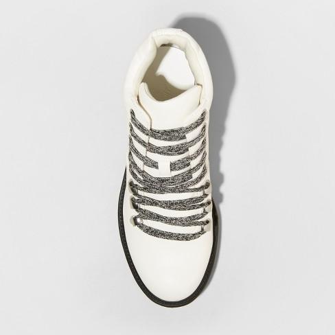 dd1c03df3df Women's Karri Lace Up Hiker Boots - Universal Thread™ White 10