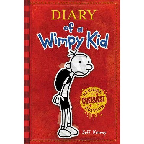 Diary of a Wimpy Kid - by  Jeff Kinney (Hardcover) - image 1 of 1
