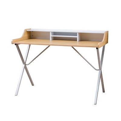 Aalto Computer Desk White - Christopher Knight Home