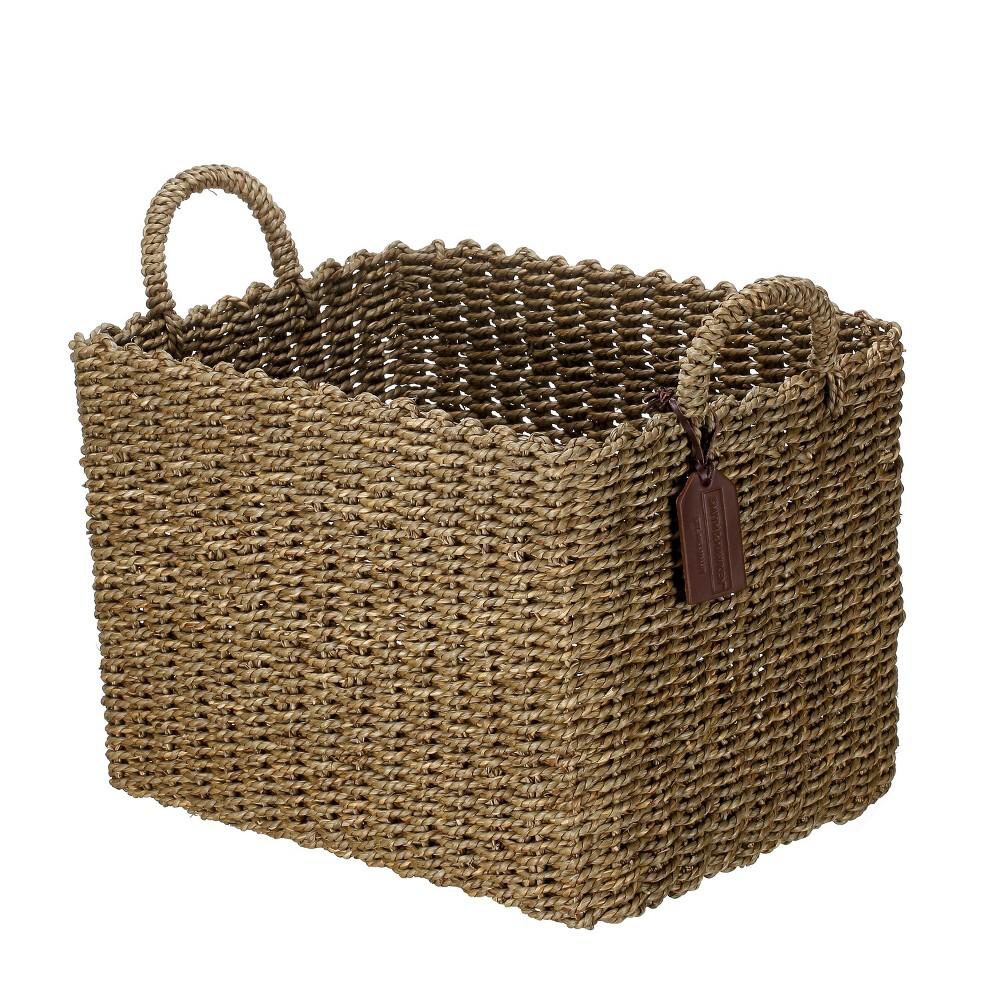 Decorative Basket Medium - Brown - Smith & Hawken