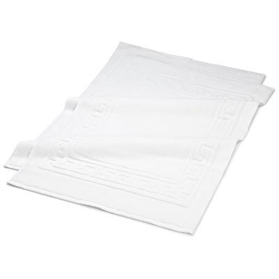 """Modern Cotton Absorbent 2-Piece Bath Mat Set, 22"""" x 35"""" - Blue Nile Mills"""