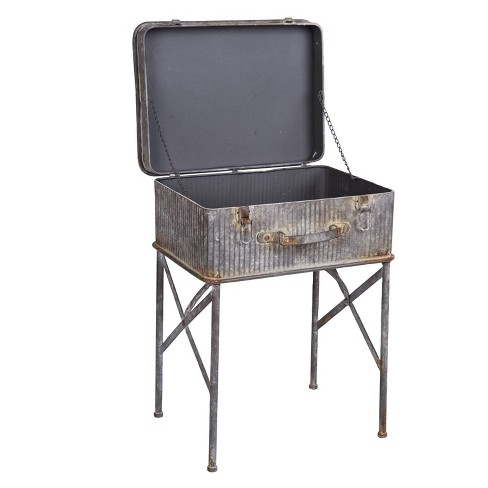 Devon Suitcase Side Table - Foreside Home and Garden - image 1 of 2
