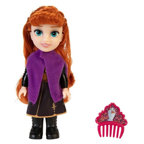 Disney Frozen 2 Adventure Petite Anna Adventure Doll - image 1 of 4