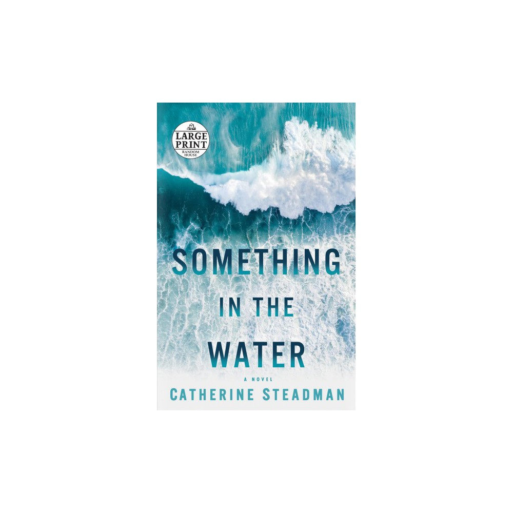 Something in the Water - Lrg (Random House Large Print) by Catherine Steadman (Paperback)