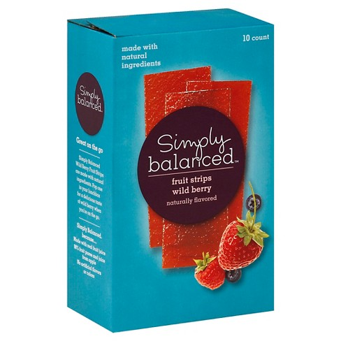 Wild Berry Fruit Strips 10ct - Simply Balanced™ - image 1 of 3