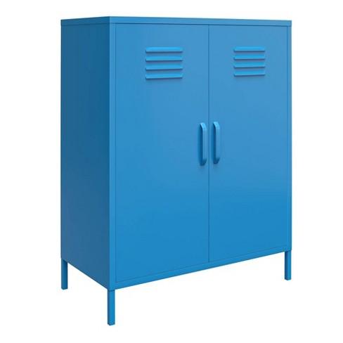 2 Door Cache Metal Locker Storage Cabinet - Novogratz - image 1 of 4