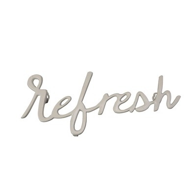Refresh  Wall Decor Off White - Threshold™