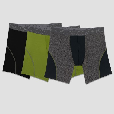 Fruit of the Loom Select Men's Breathable Performance Boxer Briefs 3pk