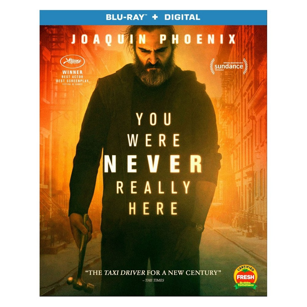 You Were Never Really Here Blu Ray Digital