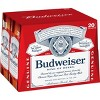 Budweiser Lager Beer - 20pk/12 fl oz Bottles - image 2 of 3
