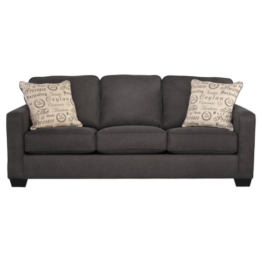 Alenya Sofa - Charcoal - Signature Design by Ashley, Grey