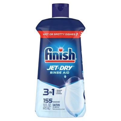 Finish Jet-Dry Rinse Aid, Dishwasher Rinse & Drying Agent