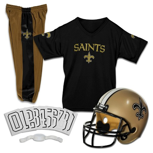 d7166b0a9 Franklin Sports NFL New Orleans Saints Deluxe Uniform Set   Target