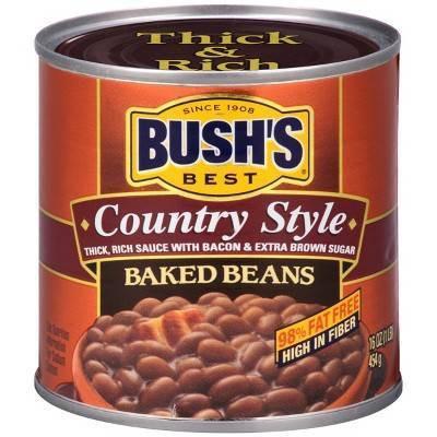 Beans: BUSH'S  Baked Beans