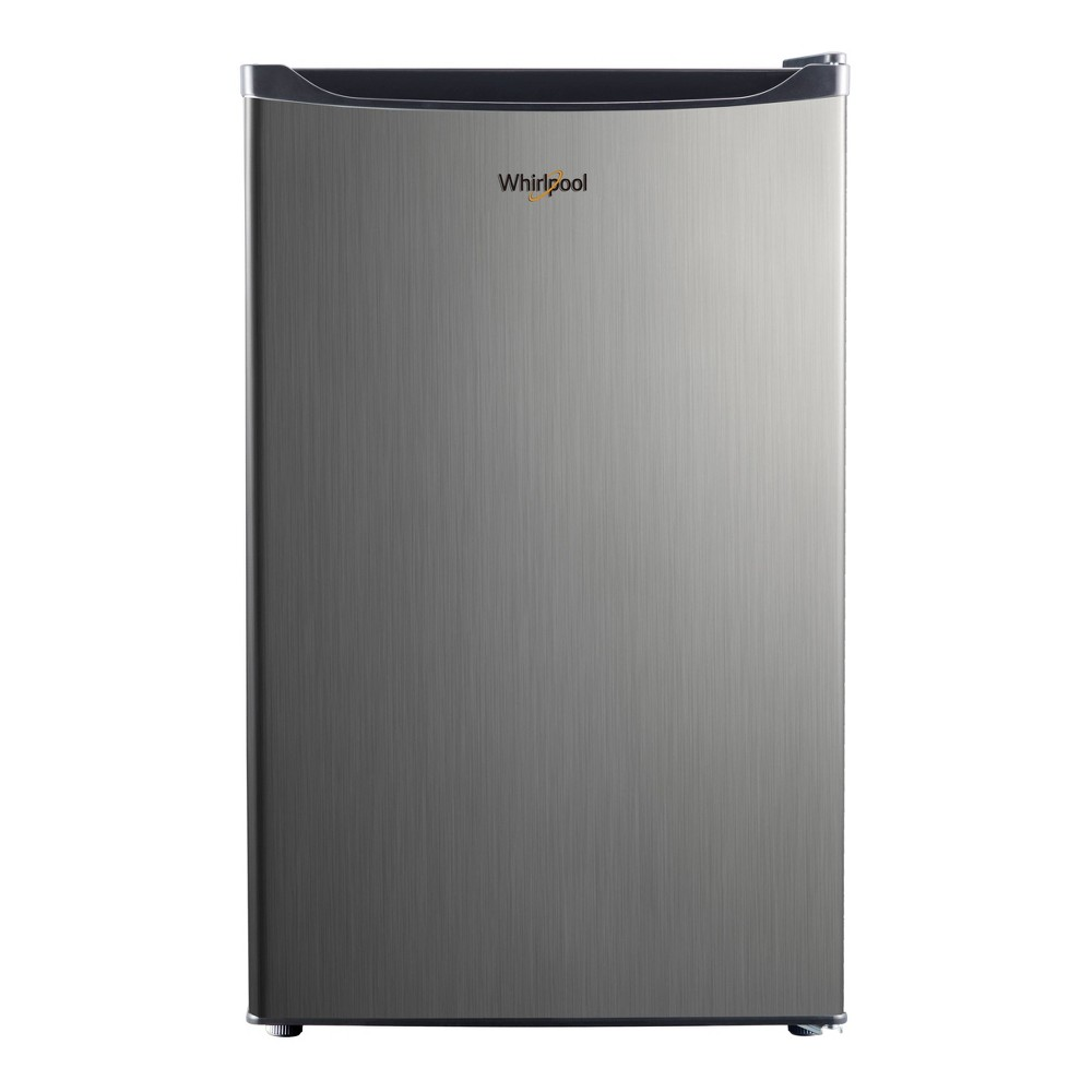 Image of Whirlpool 4.3 cu ft Mini Refrigerator Stainless Steel BC-127B