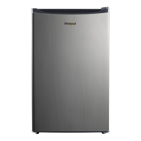 Whirlpool 4.3 cu ft Mini Refrigerator Stainless Steel WH43S1E - image 1 of 4